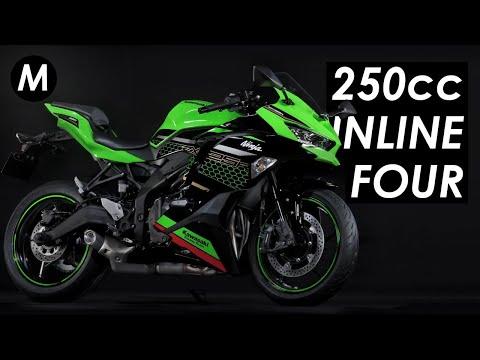 Kawasaki reintroduces the 250cc inline-4 as 2020 ZX-25R