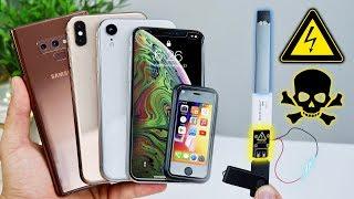 USB Killer vs iPhone XS Max/XR Fake, Note 9 & Juul! Instant Death?
