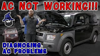 AC not working!!! The CAR WIZARD shows how to easily isolate the problem