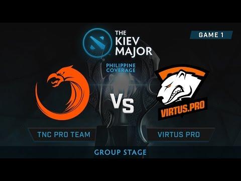 TNC Pro Gaming vs Virtus Pro | Kiev Majors : Group Stage | Philippine Coverage | Game 1