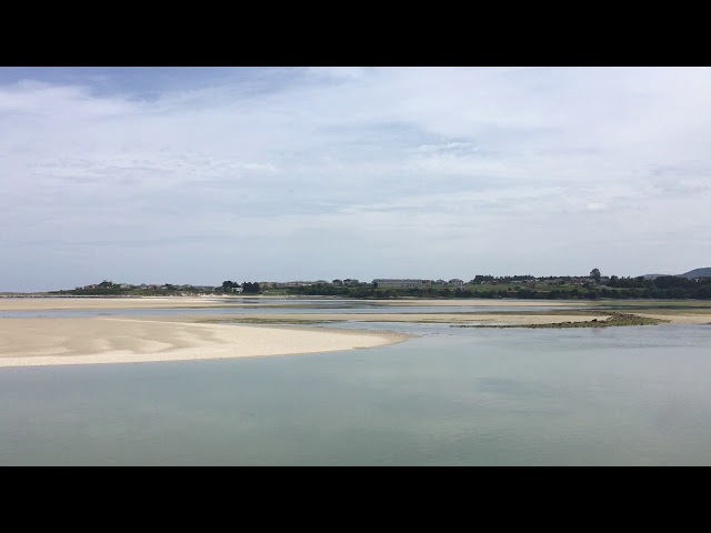 Blick über die Ria de Foz