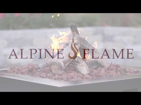 Alpine Flame 3-Tier Gas Ring Burner