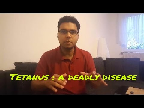 Video Tetanus : A deadly disease ( In Hindi)