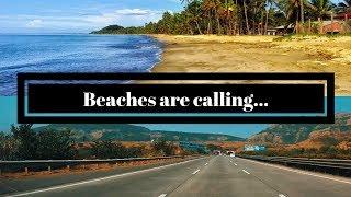 Nearest beach destination from Pune || Mumbai-Pune expressway Cinematic view