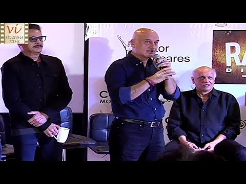 Anupam Kher Talks About Nepotism In Bollywood & Mahesh Bhatt   Six Sigma Films