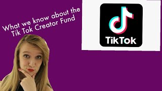 How to Apply for the Tik Tok Creator Fund *Accessing the Dashboard & Getting Paid*