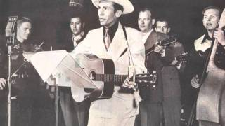 Why Don't You Love Me (Like You Used To Do?), Hank Williams