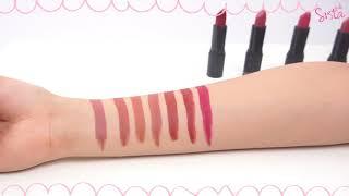 SistaCafe Channel :รีวิว Malissa Kiss Velvet Matte Lip Color