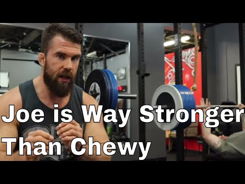 Bench Press & Arm Workout with Chewy and Joe (Weight Training For BJJ)