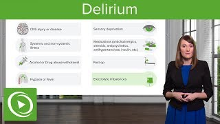 Alcohol and Delirium – Psychiatry | Lecturio - Самые лучшие