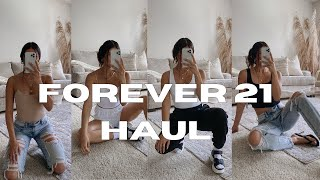 FOREVER 21 TRY-ON HAUL: The New Basics Line, Shoes | Marrissa Jade