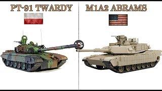 PT 91 TWARDY Vs M1A2 ABRAMS