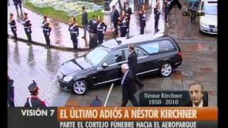 Visión Siete El Adiós A Kirchner Multitudinario Cortejo 1