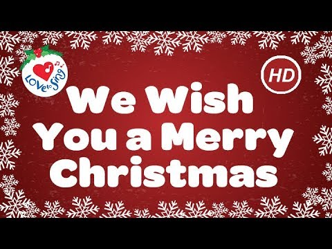 , title : 'We Wish You a Merry Christmas with Lyrics  | Christmas Carol & Song | Children Love to Sing'