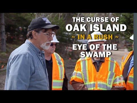 The Curse of Oak Island (In a Rush) | Season 7, Episode 3 | Eye of the Swamp