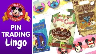 DISNEY PIN TRADING LINGO | Everything You Need To Know About Disney Pins!