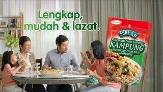 SERI-AJI® Nasi Goreng Kampung TVC – Betulkah Kau Yang Masak Ni?
