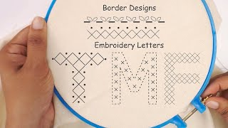 Lets Begin The Embroidery Journey | Hand Embroidery Stitches For Beginners