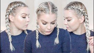 How To Cornrow Braid Your Own Hair For Beginners | EverydayHairInspiration