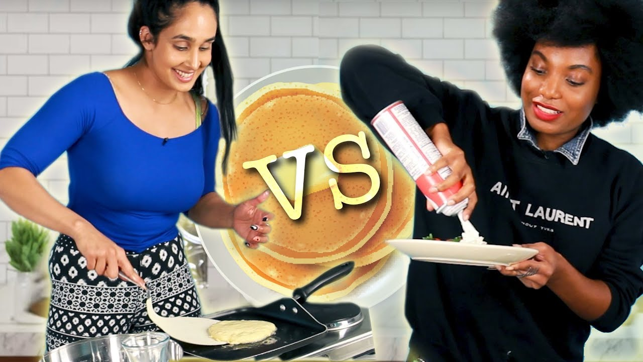 Who Can Make The Best Pancakes In 10 Minutes? thumbnail