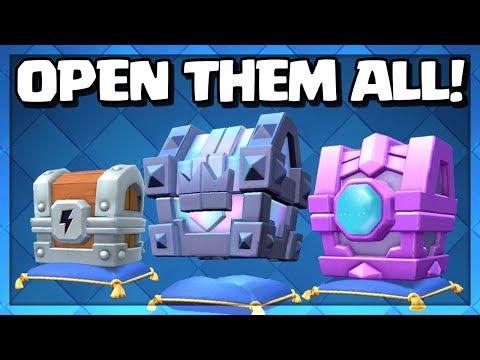 皇室戰爭 - 3個新箱子開箱