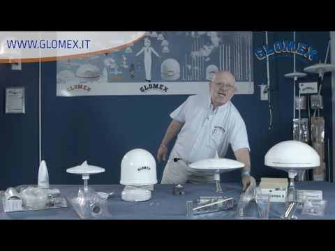 Le antenne TV per il digitale terrestre di Glomex per barche