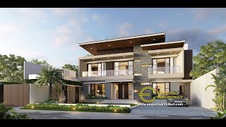 Video Mr. Yusuf Modern House 2 Floors Design - Lombok