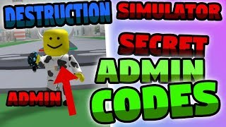 ROBLOX | NEW! 💥Destruction Simulator Codes 2019
