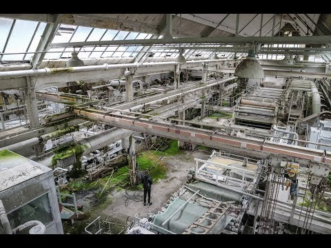 Abandoned Time Capsule Paper Mill in England - Urbex Lost Places UK