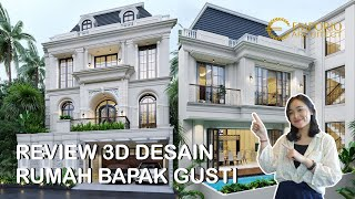 Video Mr. Gusti II Classic House 3 Floors Design - Jakarta