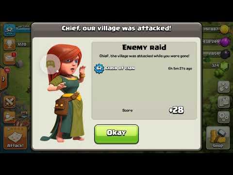 Clash of clans won yay soe really fun :)