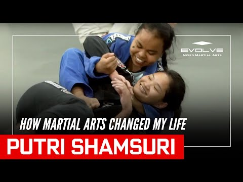 Martial Arts Changed My Life: Putri Shamsuri