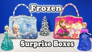 Elsa and Anna Funny Surprise Lunch Boxes with the Assistant
