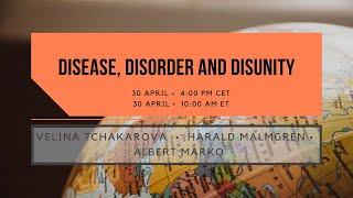 Disease, Disorder and Disunity