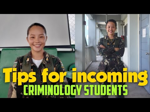 TIPS FOR INCOMING CRIMINOLOGY STUDENTS! | Angel Canillo Vlogs