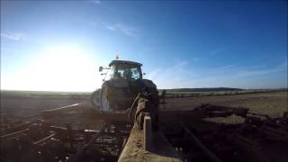 |GoPro| Příprava půdy | New Holland T7.200 |