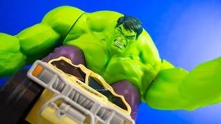 Marvel Avengers Assemble XPV Hulk Smash Remote Control Truck Toy   Kinder Playtime