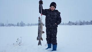 Хулимсунт рыбалка зимой
