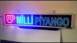 Milli Piyango Led Tabela