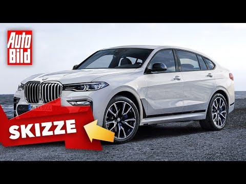 BMW X8 (2021)   Bringt BMW ein SUV-Coupé-Ableger vom X7?   Skizze