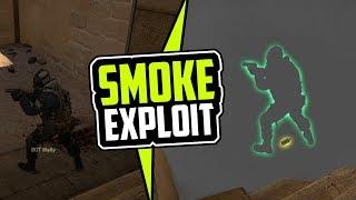 CS:GO | Smoke Exploit & Bug // (PATCHED) #Valve2k17