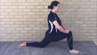 Hip sequence for stiff and tight hips