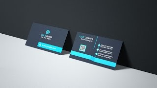 Design professional outstanding 2 side business card