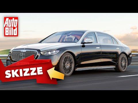 Mercedes-Maybach S-Klasse (2021): Skizze - Luxuslimousine - Info
