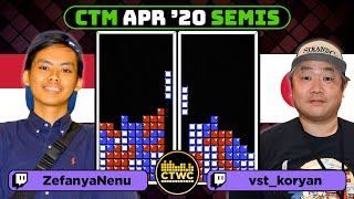 April 2020 CTM - Semifinal 2 - Classic Tetris Monthly