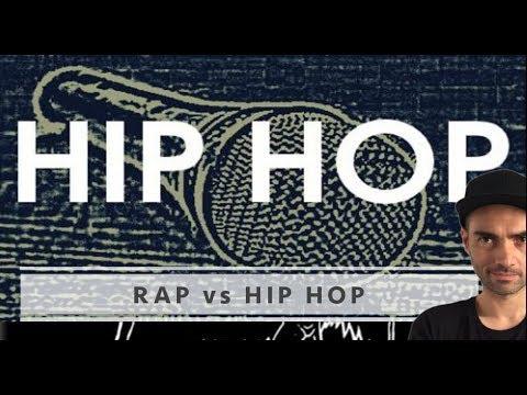Diferencia entre RAP y HIP-HOP. Por qué ya no son lo mismo.