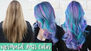 ★ Mermaid Hair Color Transformation ★