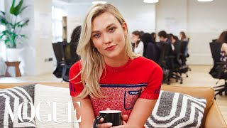 73 Questions With Karlie Kloss ft. Casey Neistat & Ashley Graham | Vogue
