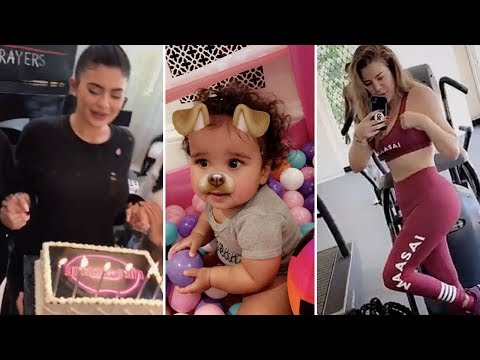 Khloe Kardashian | Snapchat Videos | July 21st 2017 | ft Kylie Jenner & Dream Kardashian