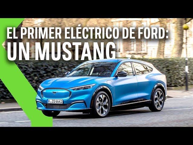 Ford Mustang Mach-E, toma de contacto: la reinvención de MUSTANG es un SUV 100% eléctrico y ENAMORA